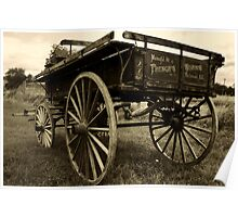 Antique Wagon_1 Poster