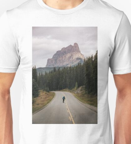 Skating the Bow Valley Trail Unisex T-Shirt
