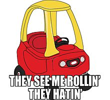 Cozy Coupe - They see me rollin'  Photographic Print