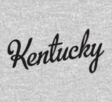 Kentucky Script Black by USAswagg