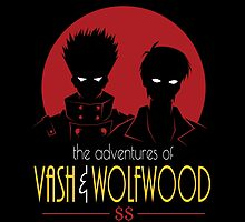 Adventures of Vash & Wolfwood by OtakuTeez