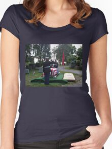 Honoring A Faithful Soldier Women's Fitted Scoop T-Shirt