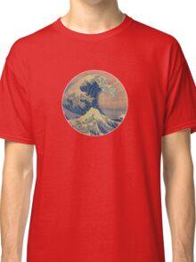 great wave off kanagawa (color) Classic T-Shirt