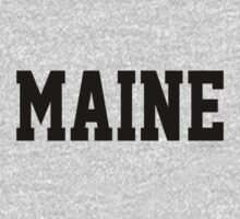 Maine Jersey Black T-Shirt