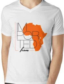 Imported From Africa Mens V-Neck T-Shirt
