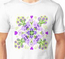 Green Lotus Blob Unisex T-Shirt