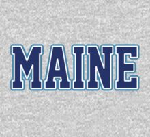 Maine Jersey Blue by USAswagg