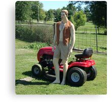 Perfect Lawn Boy Canvas Print