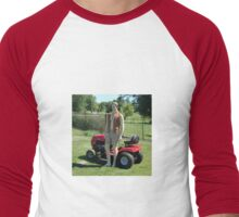 Perfect Lawn Boy Men's Baseball ¾ T-Shirt