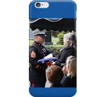 Thanking Your Father For His Service iPhone Case/Skin