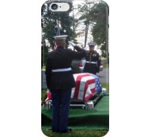Honoring A Faithful Soldier iPhone Case/Skin