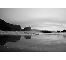 Reflections at Kynance Cove Photographic Print