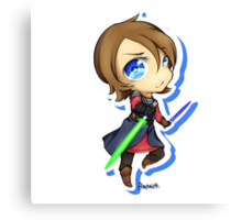 Anakin Skywalker chibi Canvas Print