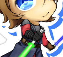 Anakin Skywalker chibi Sticker