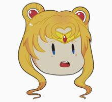 Sailor Moon Chibi Head by ribbon-bubbles