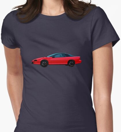 4th Generation Z28 Camaro Womens Fitted T-Shirt