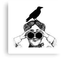Where's that bird?! Canvas Print
