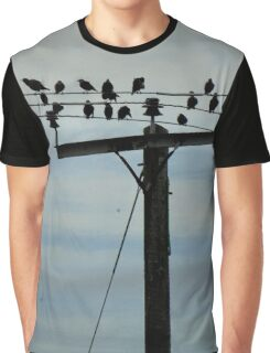 Flock Graphic T-Shirt