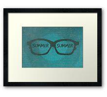 Summer Summer Framed Print