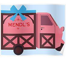 Grand Budapest Hotel - Mendl's Poster