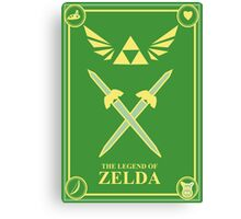 Triforce Wings Canvas Print
