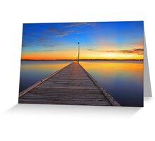 Como Jetty - Western Australia  Greeting Card