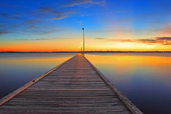 Como Jetty - Western Australia  by EOS20