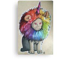 Uni-Cat Canvas Print