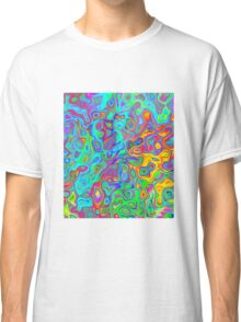 Psychedelic Spring Classic T-Shirt