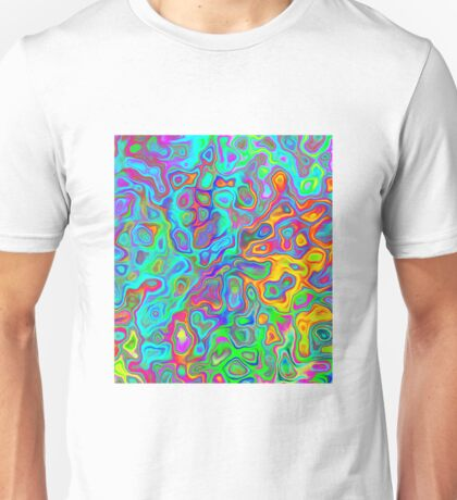 Psychedelic Spring Unisex T-Shirt