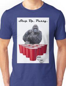 Harambe Beer Pong Step Up Unisex T-Shirt