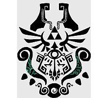 Legend of Zelda (mashup) Photographic Print