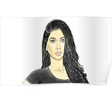 Zoe Patel (Colored) Poster