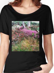 Roadside  Flowers, Donegal, Ireland Women's Relaxed Fit T-Shirt
