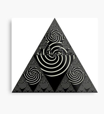 Sierpinski VI Metal Print