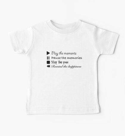 Music Life Quote Baby Tee