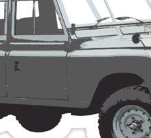 1975 Land Rover Defender Sticker