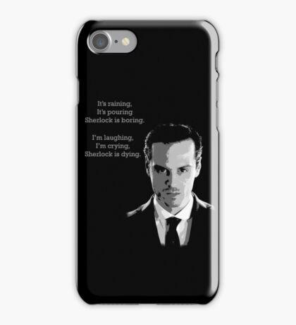 Sherlock Holmes Moriarty  iPhone Case/Skin