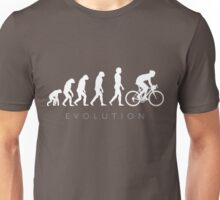 Evolution Of Cycling Unisex T-Shirt