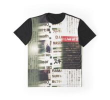 Nihongo No Pattern Graphic T-Shirt