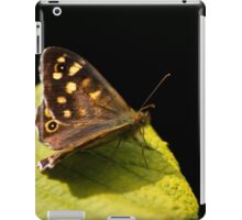 Butterfly On Leaf iPad Case/Skin
