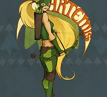 Artemis by Nicacolalite