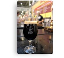 Great British Beer Festival - A Stout Canvas Print