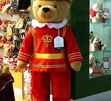 Harrods 6ft Beafeater Bear by Marilyn Harris