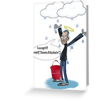 Icebucketchallenge Greeting Card