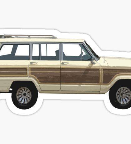 Jeep Wagoneer Sticker