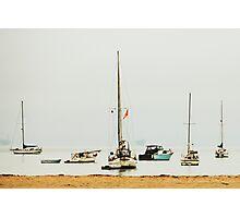 Sunday Boats Photographic Print