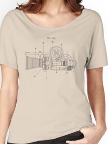 Arriflex 16mm Film Camera Women's Relaxed Fit T-Shirt