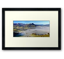 Acheron Valley Framed Print