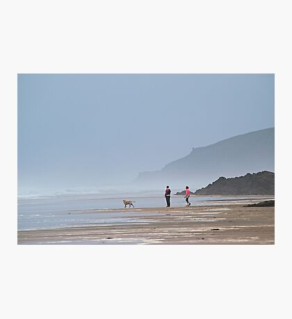 Beautiful Beach Walk Photographic Print